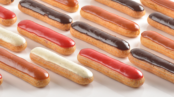 New Éclairs: Authentic French recipe
