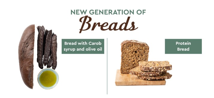 New Generation breads