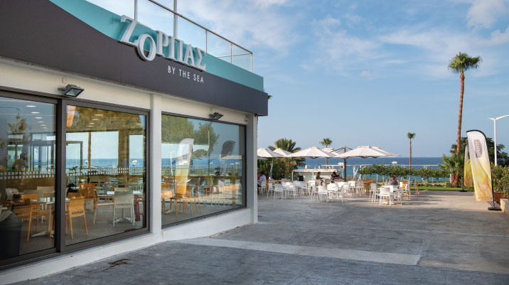 Zorbas by the sea: New store in Protaras